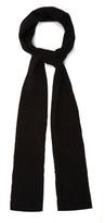 Balenciaga Distressed Wool-blend Scarf
