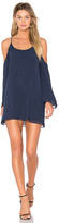 Lovers + Friends x REVOLVE Lucy Dress in Blue. - size L (also in M,S,XS)