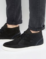 Lacoste Sevrin Suede Mid Chukka Boots