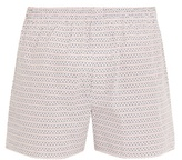 Sunspel Loop-print cotton boxer shorts
