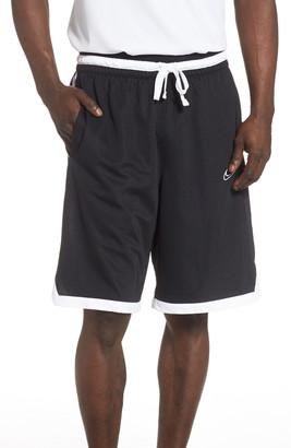 Nike B-Ball Elite Stripe Athletic Shorts