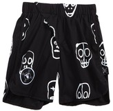 Nununu Boy's Skull Mask Board Shorts