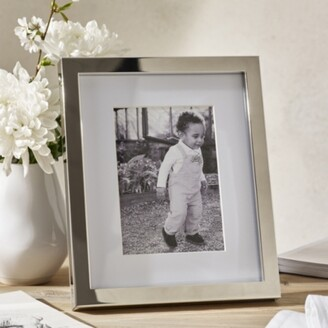 The White Company Classic Silver Photo Frame 5x7, Silver, One Size