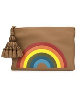 Anya Hindmarch 'Rainbow Georgiana' clutch