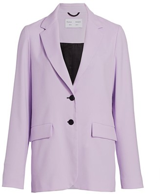 Proenza Schouler White Label Suiting Unconstructed Blazer