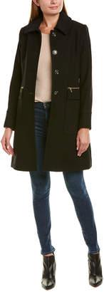 Trina Turk Trina By Hope Wool-Blend Coat