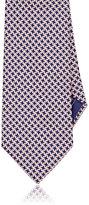 Brioni Men's Tessellated-Star Necktie-PINK