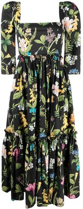 Cara Cara All-Over Floral Dress