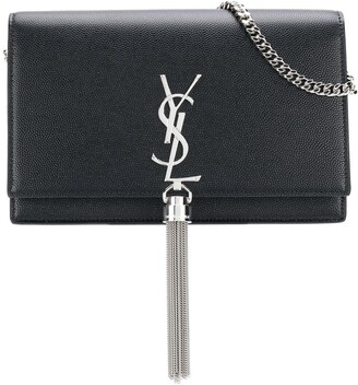 Saint Laurent Kate tassel chain bag