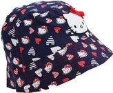 Hello Kitty Kids Girls Heart Pattern Summer Bucket Hat