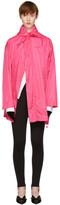 Balenciaga Pink Scarf Windbreaker Jacket