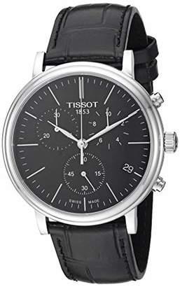 Tissot Mens Carson Swiss Quartz Stainless Steel Dress Watch (Model: T1224171605100)
