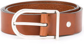 Troubadour - minimal belt - men - Calf Leather - 60