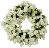 Winward Silks 16'' White Hops Wreath - Faux