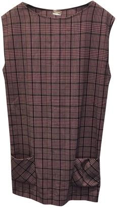Alexis Mabille Purple Wool Dress for Women