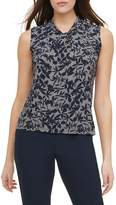 Tommy Hilfiger Floral Knot Neck Sleeveless Top
