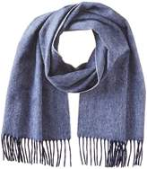 Phenix Cashmere Men's Large Herringbone Scarf