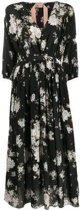 No.21 floral printed dress