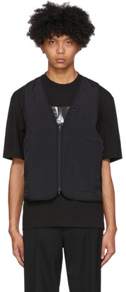 Y-3 Black Insulated Vest