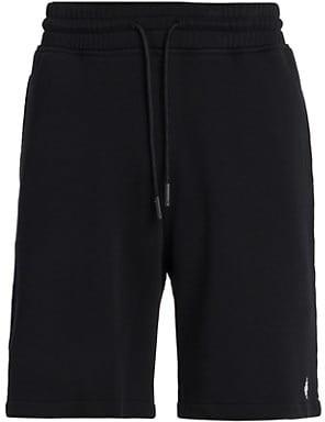 Marcelo Burlon County of Milan Cross Basket Cotton Shorts