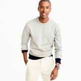 J.Crew French terry crewneck sweatshirt in grey