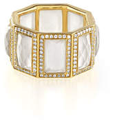 Ippolita 18k Rock Candy 8-Stone Ring in Mother-of-Pearl with Diamonds