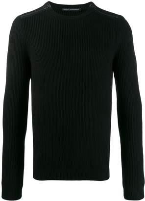 Daniele Alessandrini zip detail jumper