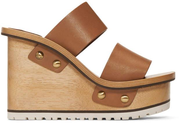 ed30697214da Chloé Beige Women s Sandals - ShopStyle