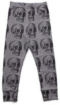 Nununu MD Skull Leggings in Heather Grey