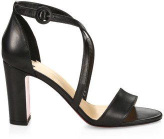 Christian Louboutin Loubi Bee Leather Sandals