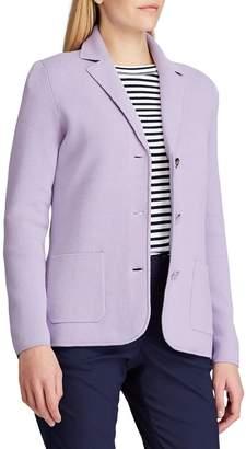 Chaps Knit Sweater Blazer