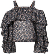 Robert Rodriguez floral blouse