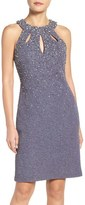 Eliza J Petite Women's Embellished Sheath Dress