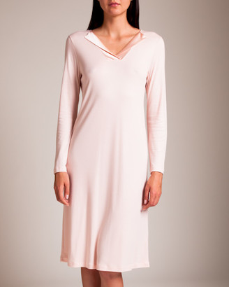 Hanro Fenja Long Sleeve Gown