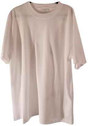 Sandro White Cotton T-shirts
