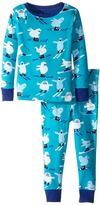 Hatley Ski Monsters Pajama Set (Toddler/Little Kids/Big Kids)
