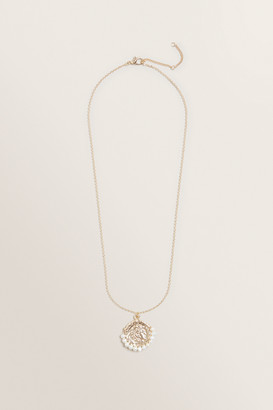 Seed Heritage Pearl Coin Necklace