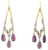 Alexis Bittar Elements Maldivian & Crystal Vine Drop Earrings