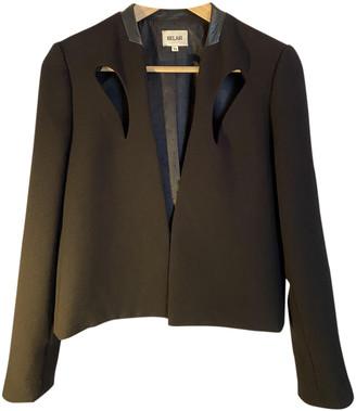 Bel Air Black Wool Jackets