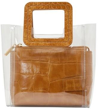 STAUD Mini Shirley handbag clear