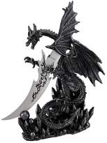 Private Label Cool `Obsidian Blade` Dragon Dagger and Holder Goth