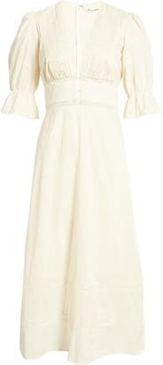 Reformation Fran Cotton Midi Dress