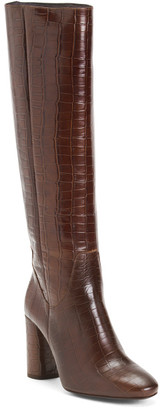 Made In Spain Leather High Shaft Boots
