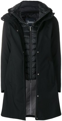 Herno Two-In-One Hooded Parka Coat