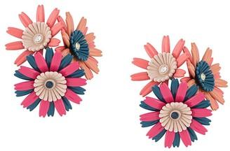 Marni Flower Cluster Clip-On Earrings