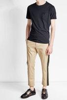 Woolrich Cotton T-Shirt with Linen