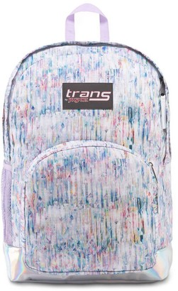 "Trans by JanSport 17.5"" Overt Backpack - Crystal Palace"