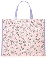 Forever 21 FOREVER 21+ Unicorn Graphic Eco Tote
