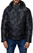 Jared Lang Men's Alsaka Camo Down Puffer Coat