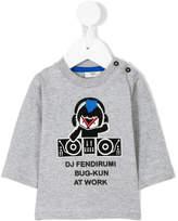 Fendi DJ sweatshirt